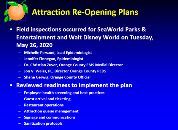 Disney World submits reopening plan for July 1