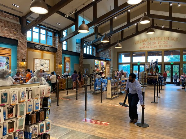 World of Disney store reopens at Disney Springs 1