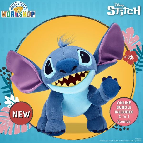 Exciting New Stitch Plush From Build-A-Bear Workshop 1