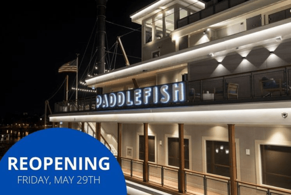 Terralina Crafted Italian and Paddlefish will be reopening on May 29 1