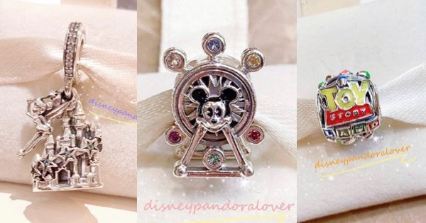 New Disney Parks Pandora Charms Coming Soon