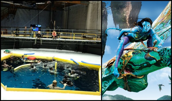 New Set Photos Reveal Underwater Scenes Being Filmed for Avatar Sequels 1