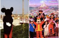 Disneyland Paris & Shanghai share first Disney Character Photo with Mickey