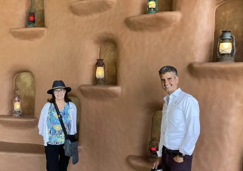 Disney World President Josh D'Amaro shares recent visit to Animal Kingdom Lodge