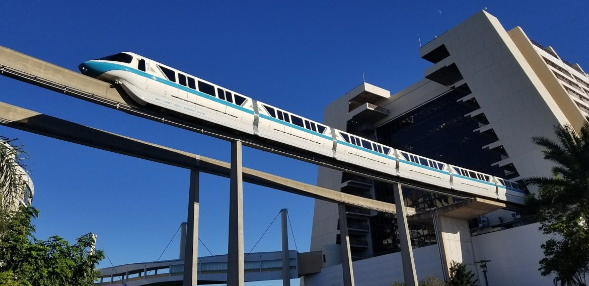 Monorails have started running again at Walt Disney World