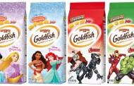 Pepperidge Farms is Releasing New Disney Princess & Marvel Goldfish