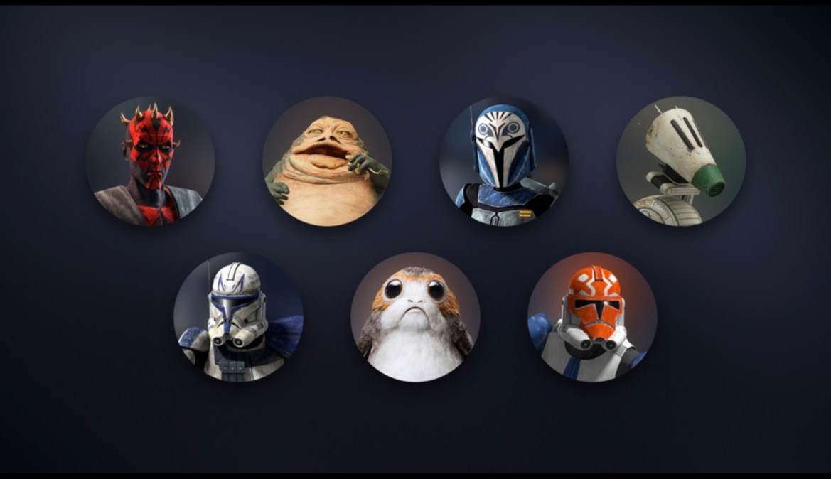 7 New Star Wars Avatars hit Disney+ for May 4th