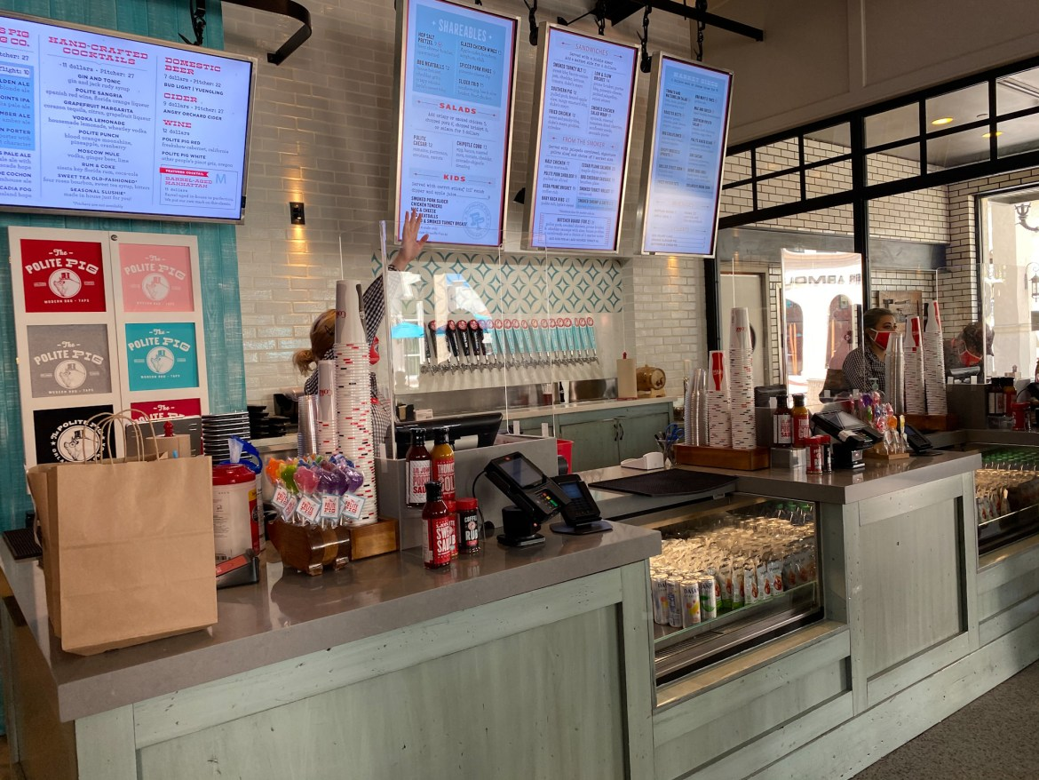 The Polite Pig: Small Safety Changes, Same Great Food