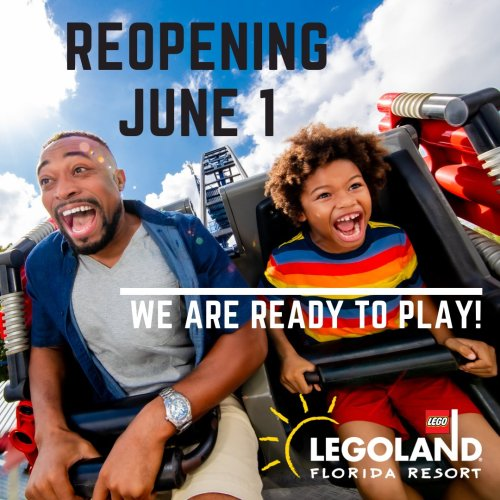 Legoland Florida Reopening
