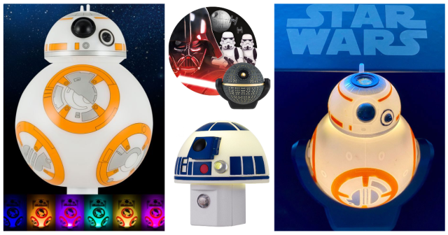 These Epic Star Wars Night Lights Are On Sale For May the Fourth 1