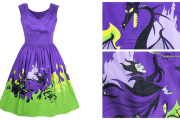 Stylish and Stunning Maleficent Dress From The Disney Dress Shop