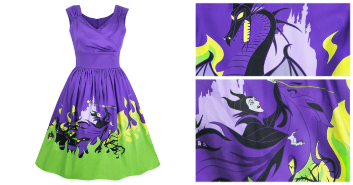 Stylish and Stunning Maleficent Dress From The Disney Dress Shop 1