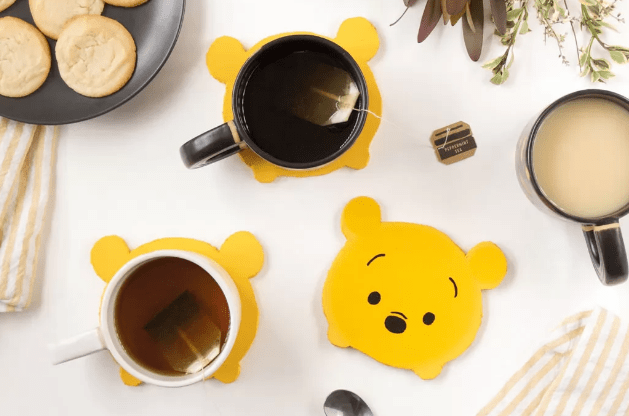 Make Your Own Winnie the Pooh Coasters!