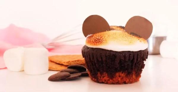 Mickey smores cupcake