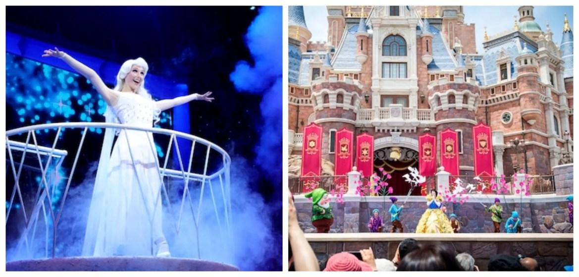 Shanghai Disneyland Stage Shows Resume Operations