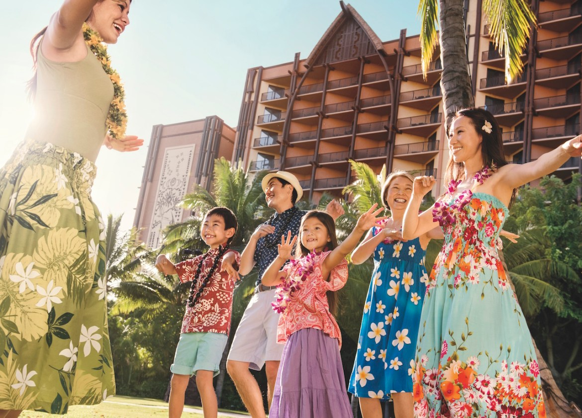 Celebrate National Lū'au Month with Aulani Resort