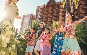 Celebrate National Lū'au Month with Aulani Resort