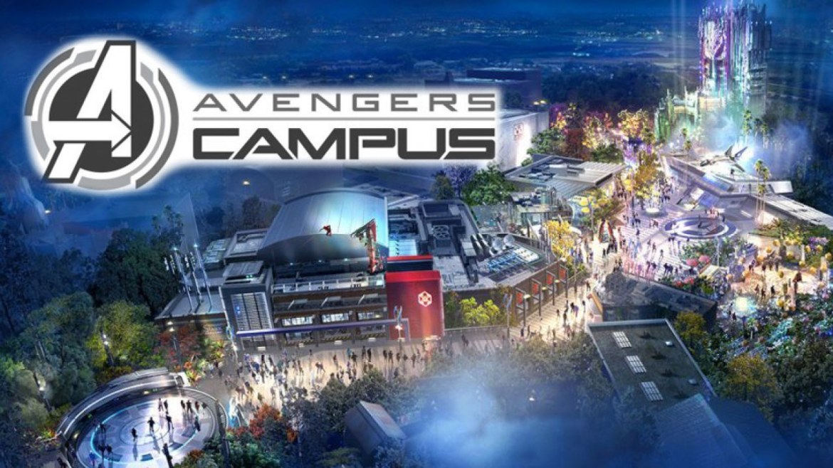 Avengers Campus Construction Continues at Disneyland
