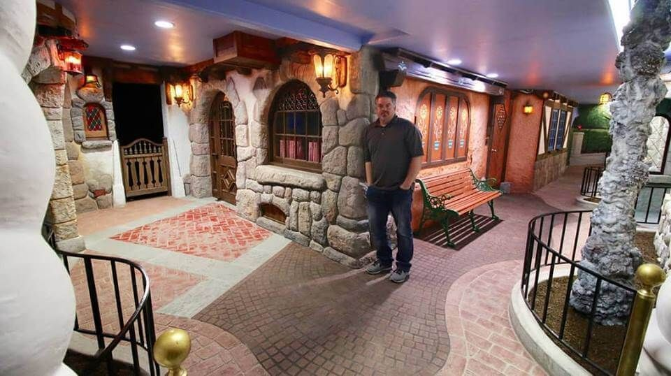 Disney Fan Recreates Fantasyland and Mr. Toad's Wild Ride in His Basement