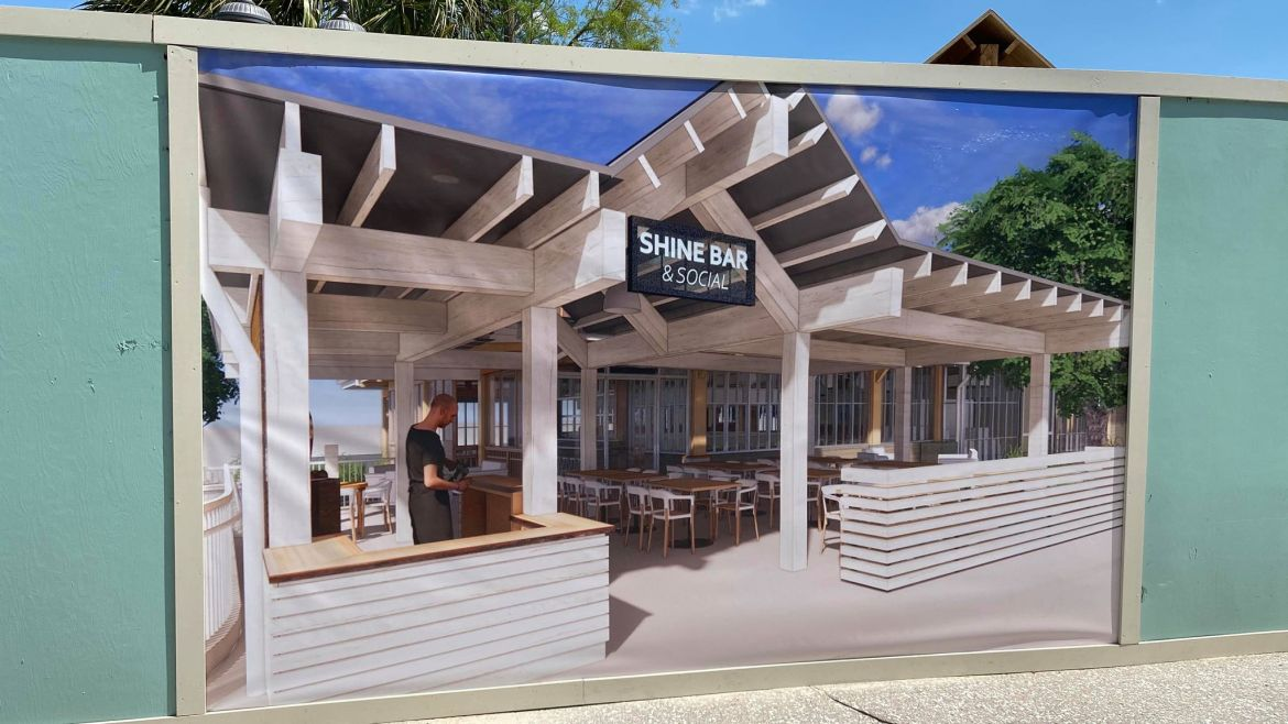 Homecomin' in Disney Springs is Getting a New Patio Area