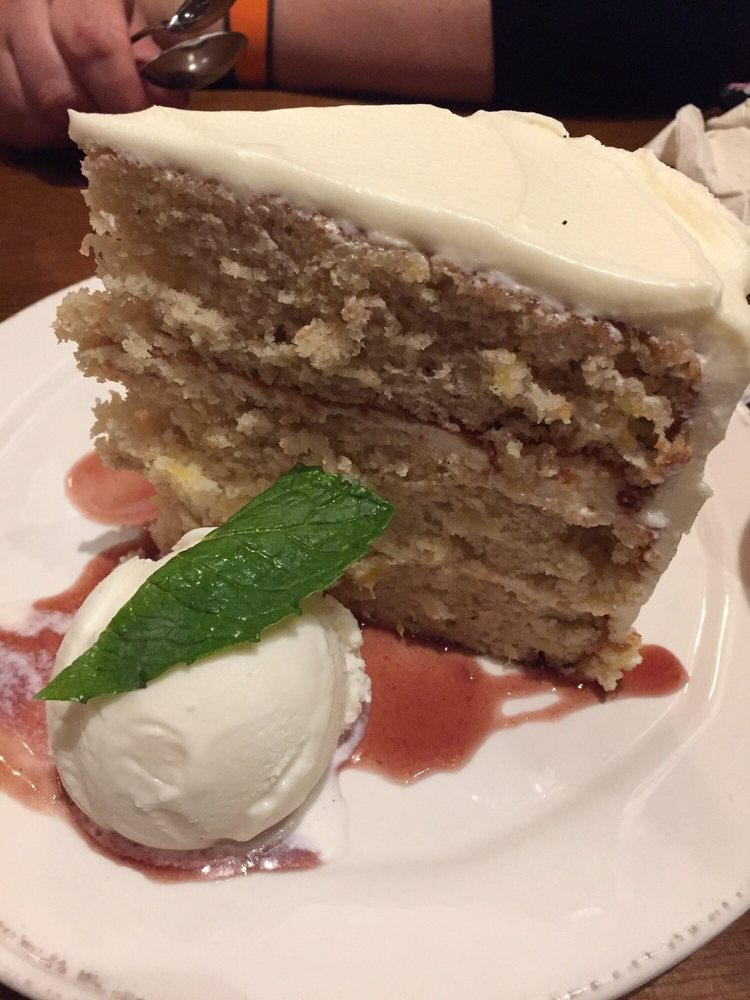 Hummingbird Cake from Chef Art Smith's Homecomin in Disney Springs!