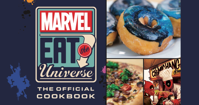 Marvel Eat The Universe With The Official Marvel Cookbook 1