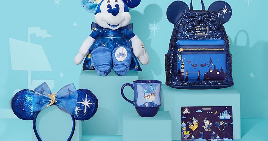 Dazzling New Peter Pans Flight Minnie Collection Takes Flight In June