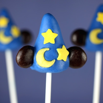 Make this at home – Sorcerer's Hat Cake Pops Recipes