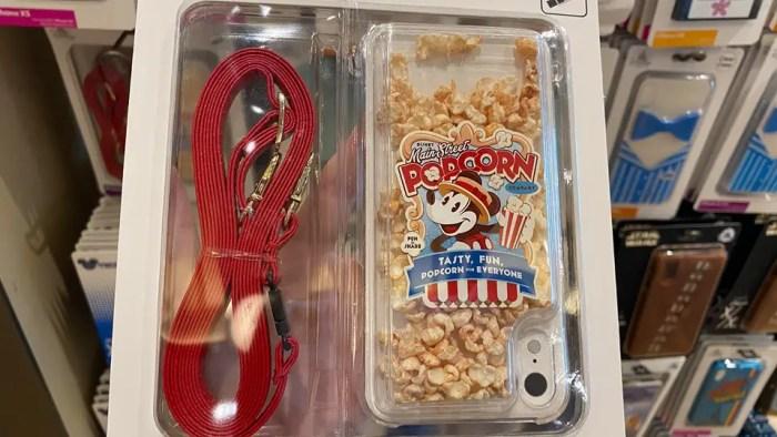 Disney Popcorn Phone Case