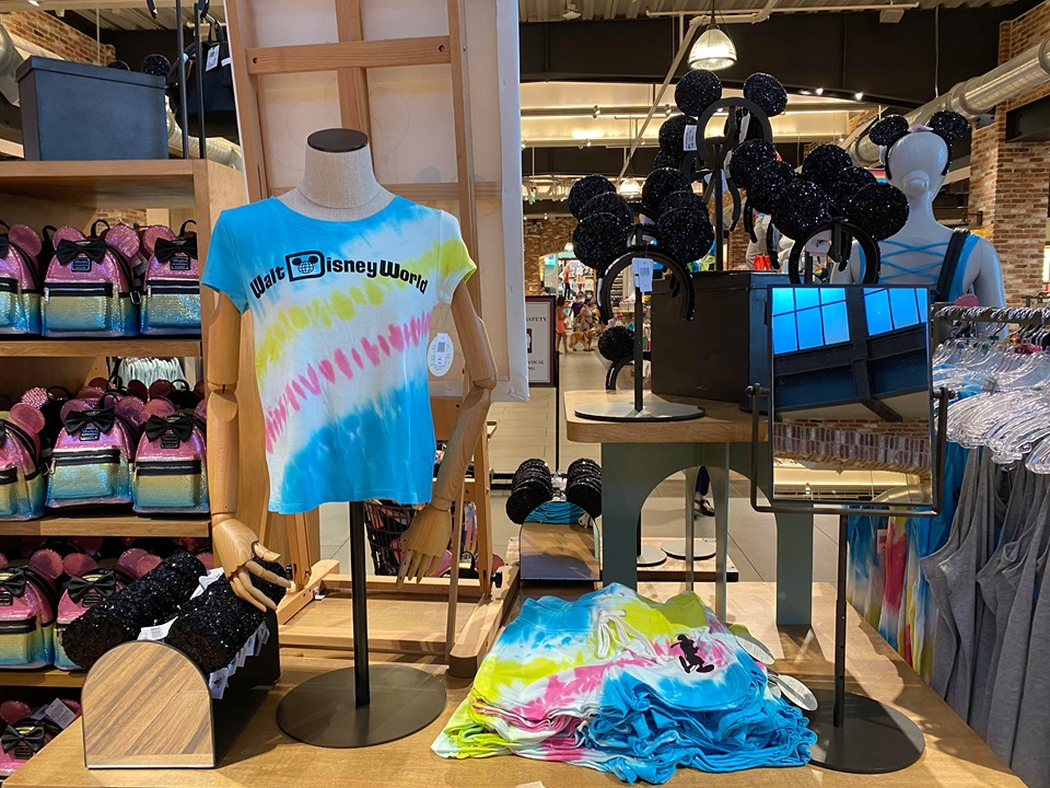Disney Parks Tie-Dye Collection For Colorful Summer Fun