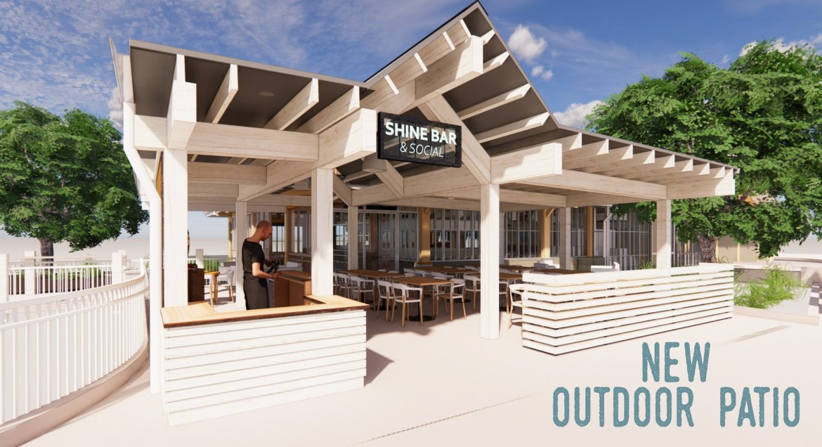 New Outdoor Patio is ready to open at Chef Art Smith's Homecomin'