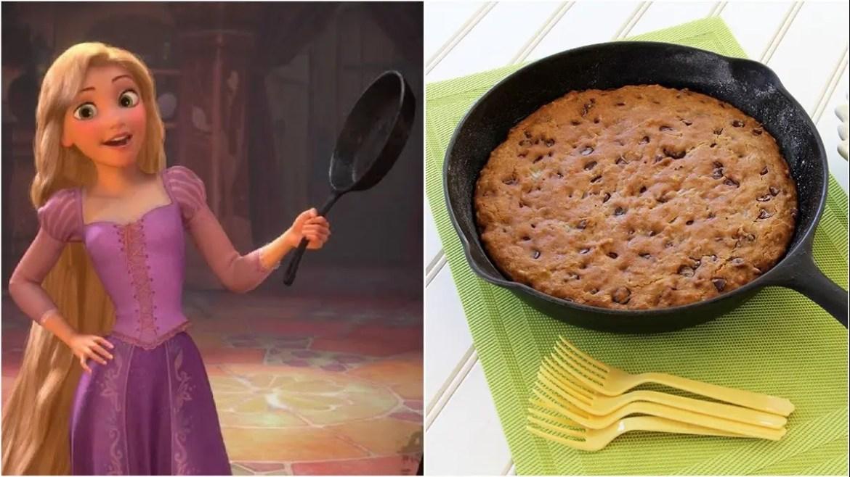 Rapunzel's Frying Pan Cookie Recipe!