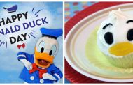 Donald Duck Cupcake Recipe