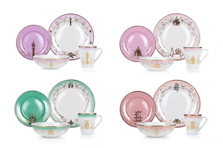 Gorgeous New Disney Princess Dinnerware Second Collection