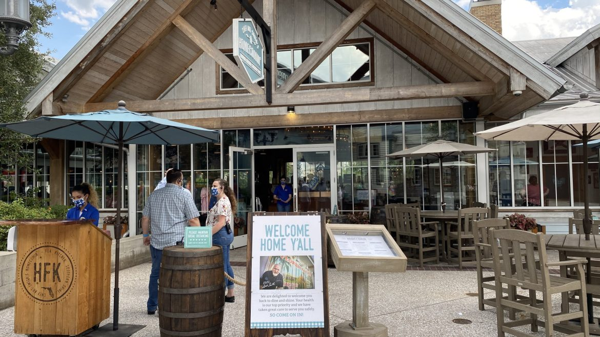Homecomin' Reopens At Disney Springs With A Brand New Outdoor Patio