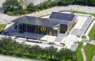 Aerial view of McDonald's near Disney's All-Star Resort