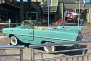 Vintage Amphicar are operating again at Disney Springs