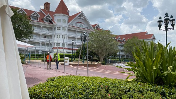 Disney's Grand Floridian Is Preparing For The NBA Players With New Fence 2