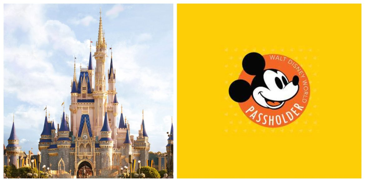 Disney World Annual Passholder site now showing new Reservation Information