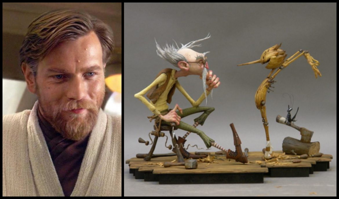 Ewan McGregor Will Voice Jiminy Cricket in Guillermo del Toro's 'Pinocchio'
