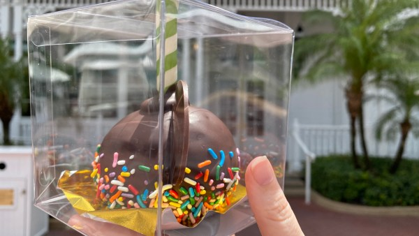 Delicious New Welcome Back Mickey Cake Pop Now At Walt Disney World 2
