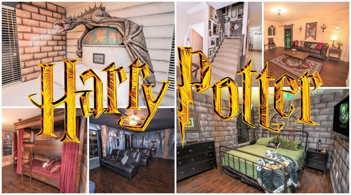Book a Magical Stay in this 'Harry Potter' Themed AirBnb