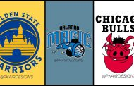 Disney Fan Recreates NBA Sports Team Logos With Some Extra Disney Magic