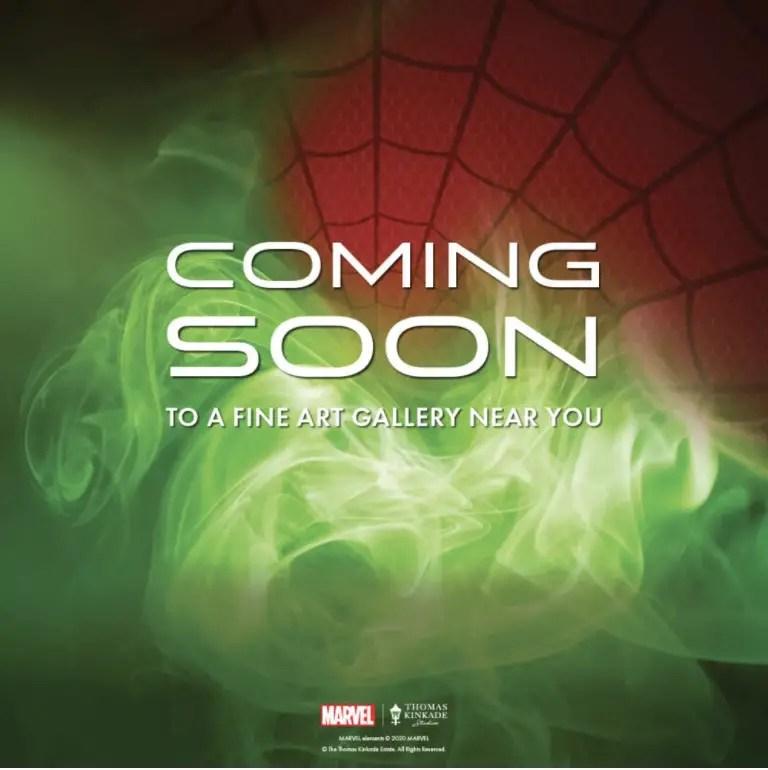 Thomas Kinkade Marvel Collection coming soon