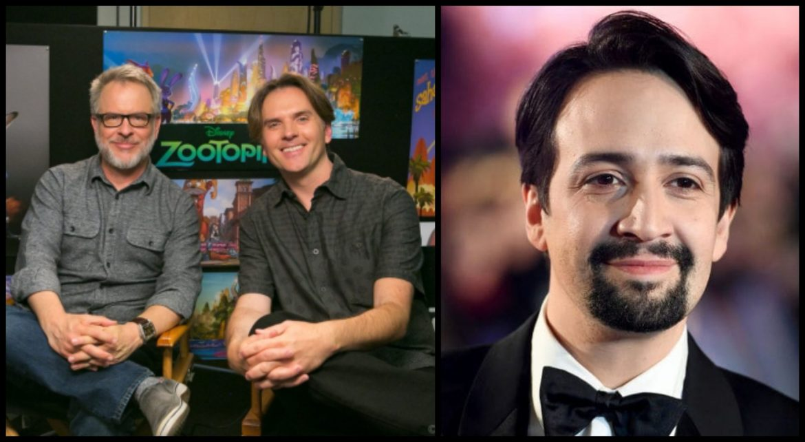 'Zootopia' Directors Are Working on a New Disney Film with Music from Hamilton's Lin Manuel-Miranda