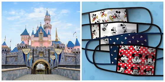 Face Masks will be Required for Guests Visiting Disneyland