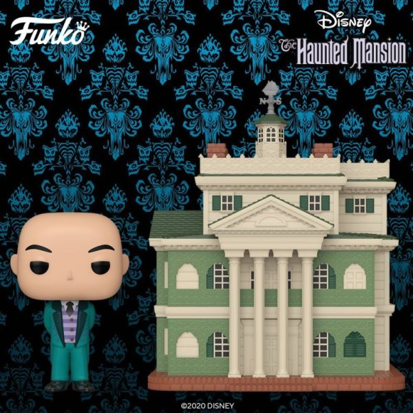 Haunted Mansion Funko POP Featuring The Mansion And Butler Haunted Mansion Funko POP