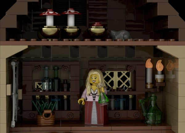 Vote for Hocus Pocus LEGO ideas featuring the Sanderson Sisters! 5