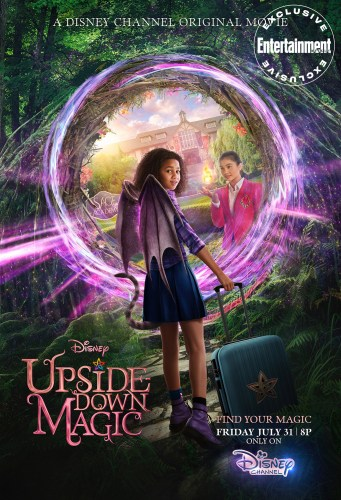 First Look Revealed for New Disney Channel Original Movie 'Upside-Down Magic' 3