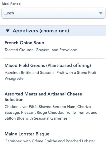 Be Our Guest Restaurant Removes Breakfast, Now Serving Table Service For Lunch And Dinner